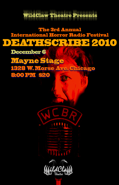 DEATHSCRIBE 2010 poster graphic