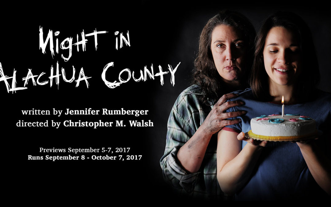 NIGHT IN ALACHUA COUNTY – Q&A with Playwright Jennifer Rumberger