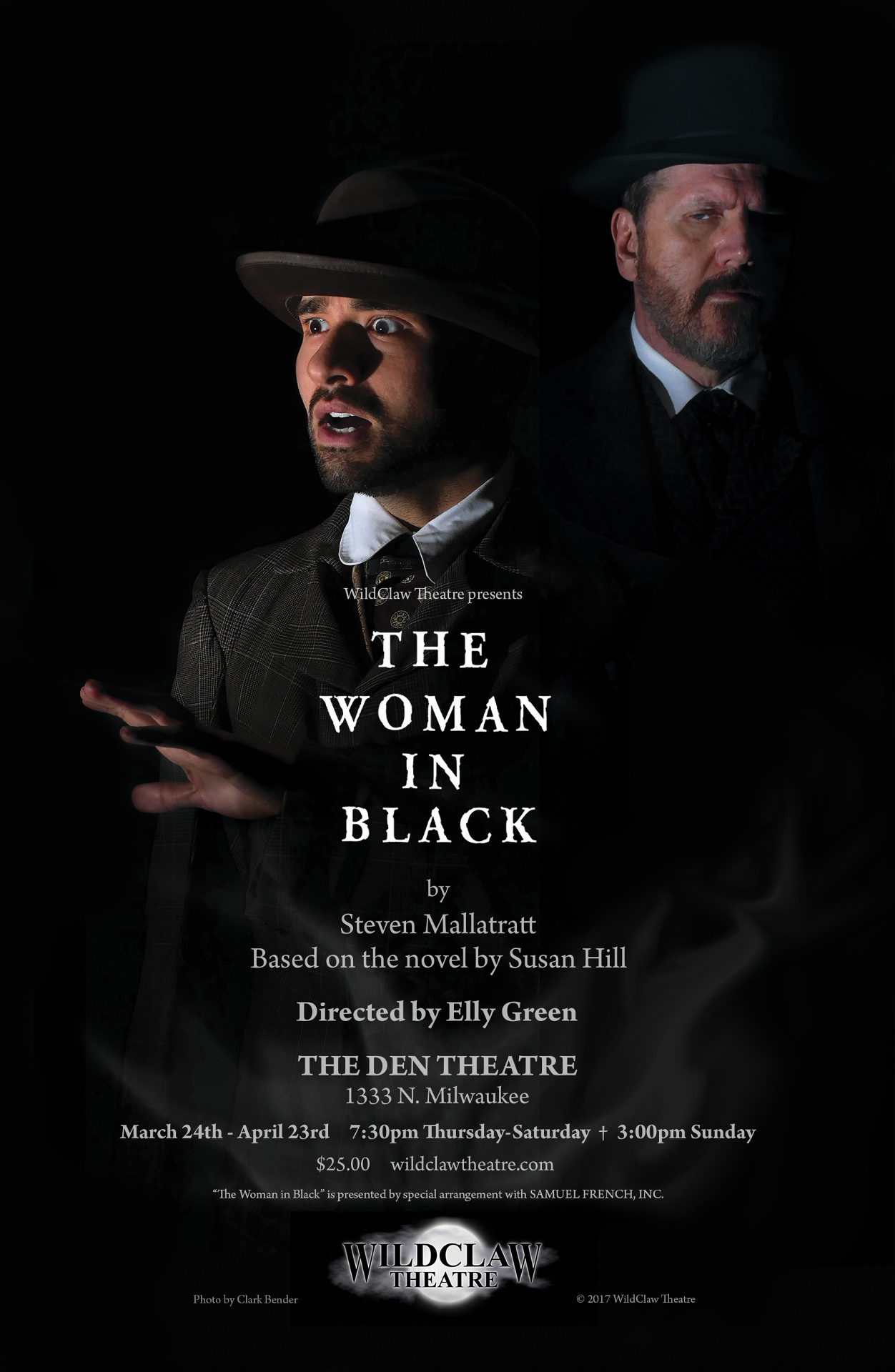 the woman in black (2017) | wildclaw theatre of chicago